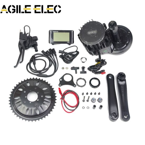 Agile 250W Bafang MID Drive Motor E Bike Kit From China pictures & photos