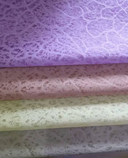 Flower Printed High Water Absorption Fabric Non-Woven Cleaning Cloth