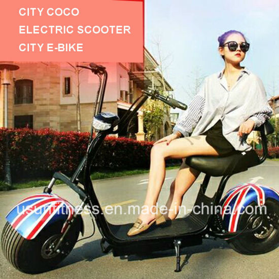 2018 Cheap Powerful Green Electric Scooter with 01- 60V 2000watt Brushless Motor for Adult pictures & photos