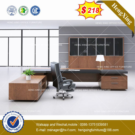 Melamine HPL Wooden Computer Furniture Home Executive Office Table Desk (HX-8NE018) pictures & photos