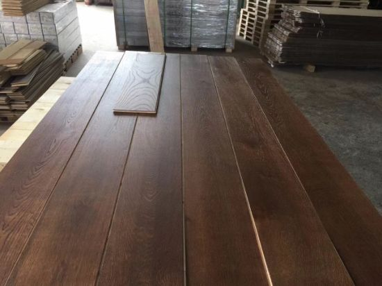 China 190 220mm Wide Plank Oak Engineered Wood Flooring China Wide