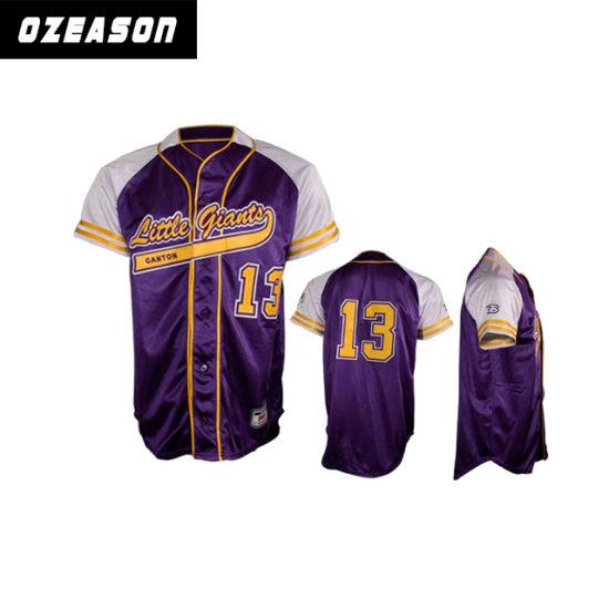 huge discount 92ff4 1a620 China Custom Sublimated Baseball Shirts Baseball Jersey ...