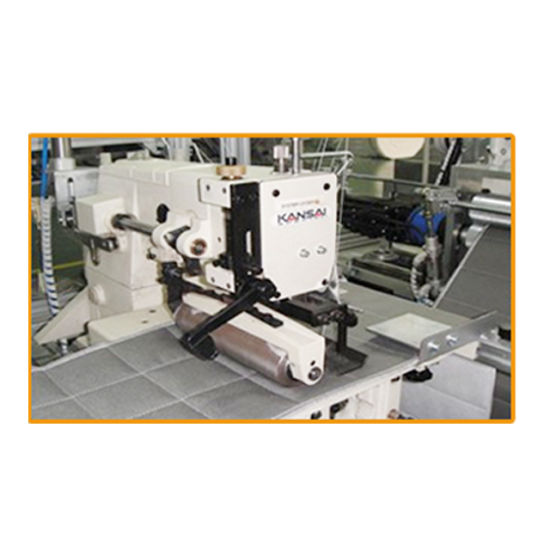 Mattress Border Double Serging and Quilting Machine pictures & photos
