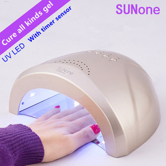 High Power 24w 48w Sunone Uv Led Nail Dryer Lamp With Sensor