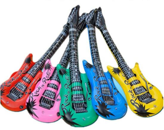 Inflatable PVC Toy Guitar Musical Instruments