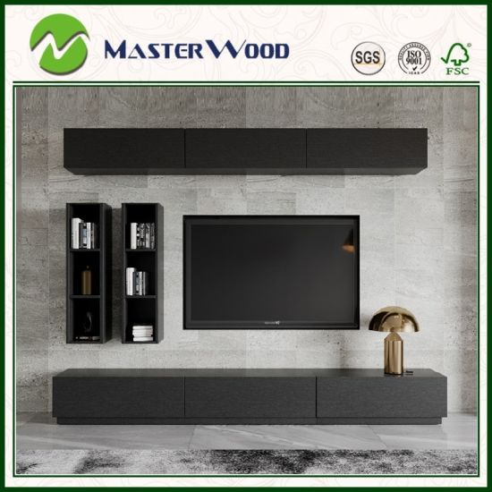 Black And White Por Tv Wall Cabinet