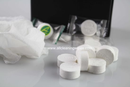 Magic Wet Wipes Compressed Napkin Tablet Pill Napkin