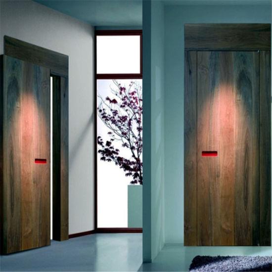 China Prima 6 Panel Cheap Interior Doors White Primer Bathroom