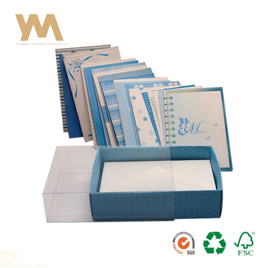 Hot Sale Custom Designs Box Set Paper Greeting Card