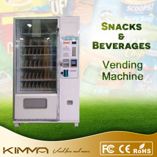 Fast Snack Vending Machine to Accept Contactless Payment