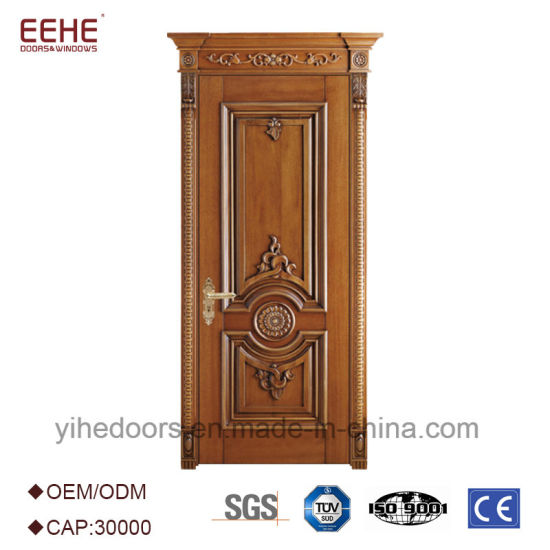 Luxury Modern Carving Wooden Front Door Design  sc 1 st  Guangdong EHE Doors \u0026 Windows Industry Co. Ltd. & China Luxury Modern Carving Wooden Front Door Design - China Wooden ...