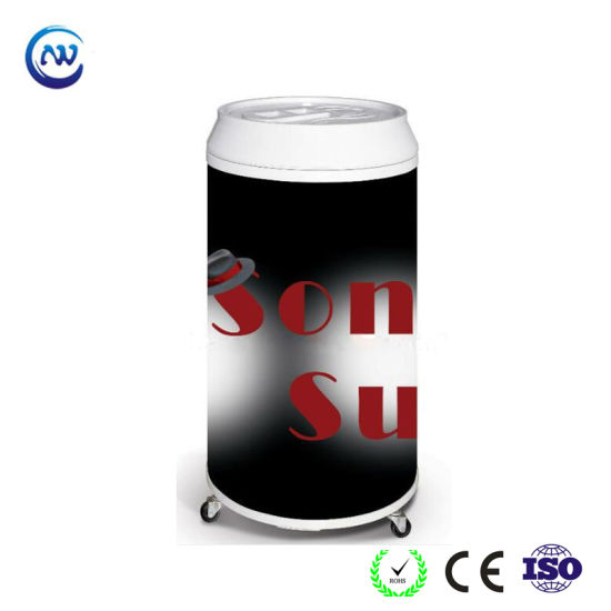 Hot Selling High Quality Beverage Bottle Cooler in Round Shape (BC-40D)