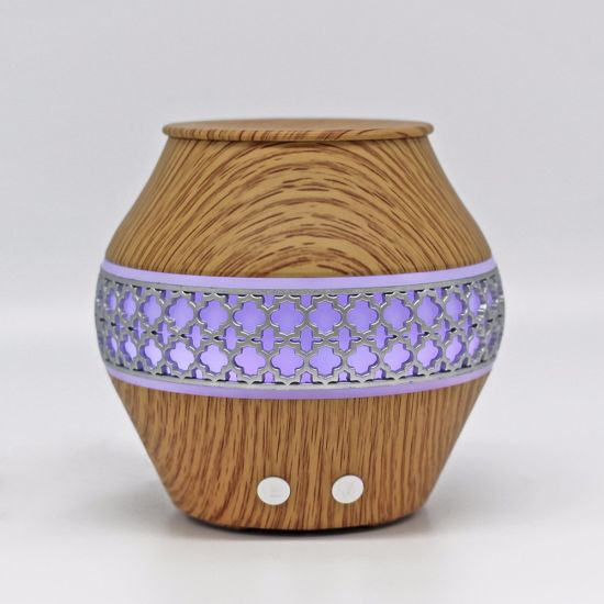 Spray Mist Electric Aromatherapy Wood Grain Aroma Diffuser pictures & photos