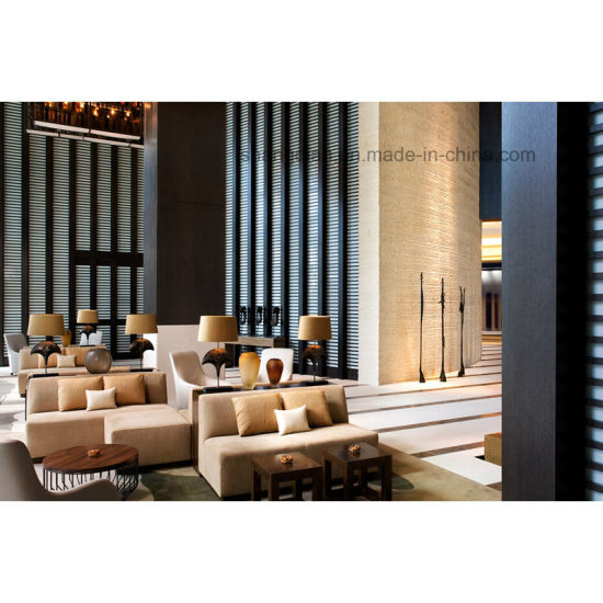 Custom Hotel Sofa Furniture Modern Hotel Lobby Furniture (ST0062)