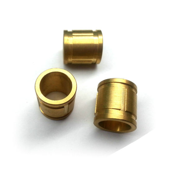 Copper Alloy Metal Hardware CNC Turning Parts pictures & photos