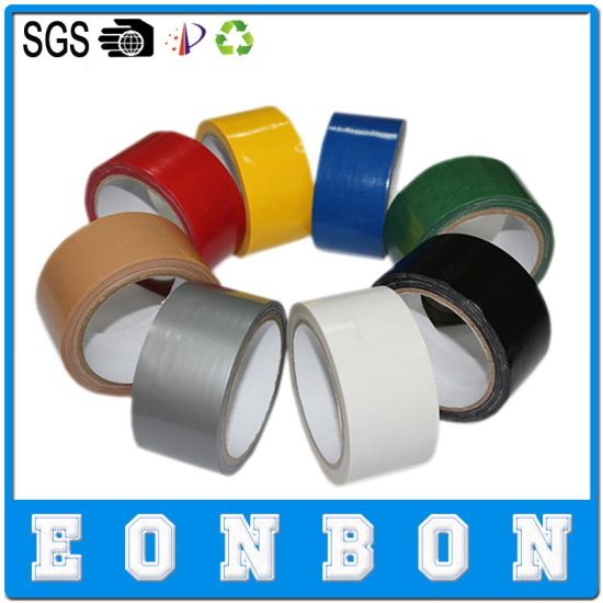 Free Samples Cloth Duct Tape, Packing Adhesive Tape pictures & photos