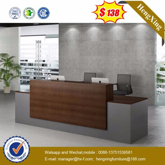 Corain Made Good Panel Meeting Talking Reception Desk (HX-8N2462) pictures & photos