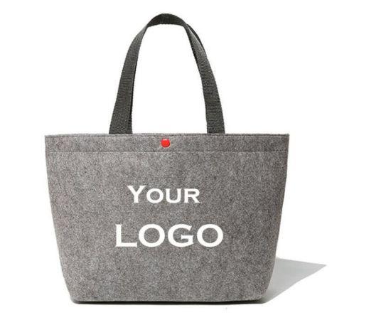 a8e6083fb0 China New Designer Eco-Friendly Felt Female Bag Tote Women Handbag ...