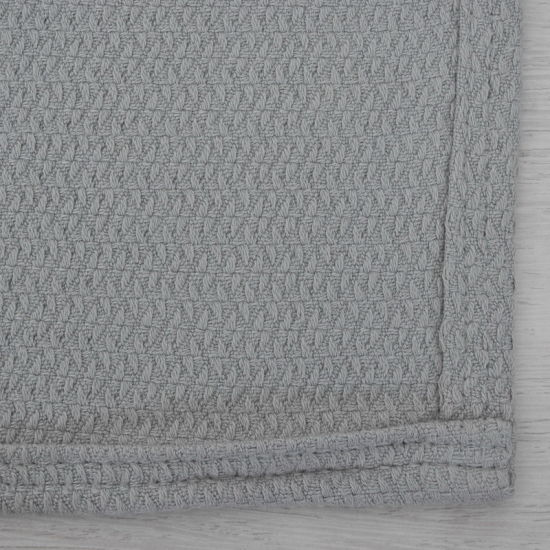 Super Soft Bamboo Cotton Thermal Weave Throw Blanket