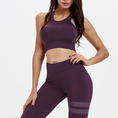 Sexy Yoga Suit Women Two Piece Gym Clothing