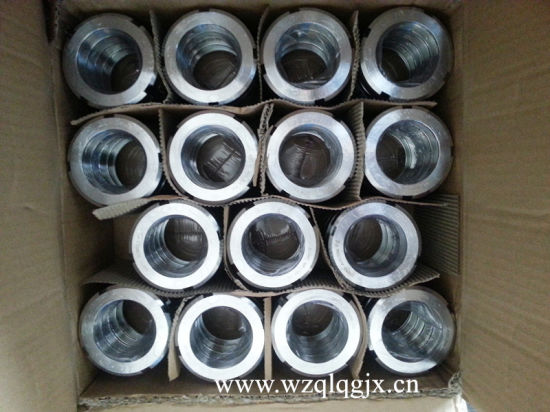 Sanitary Stainless Steel Pipe Fitting 13r SMS Round Nut pictures & photos
