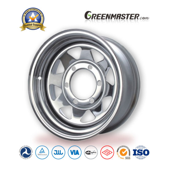 "8 Spoke 10""X3.5"" 10′*4.5′ Inch Trailer Steel Wheels pictures & photos"