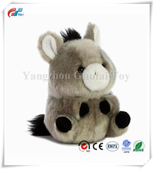 "Bray Donkey Rolly Pet 5"" Stuffed Animal"