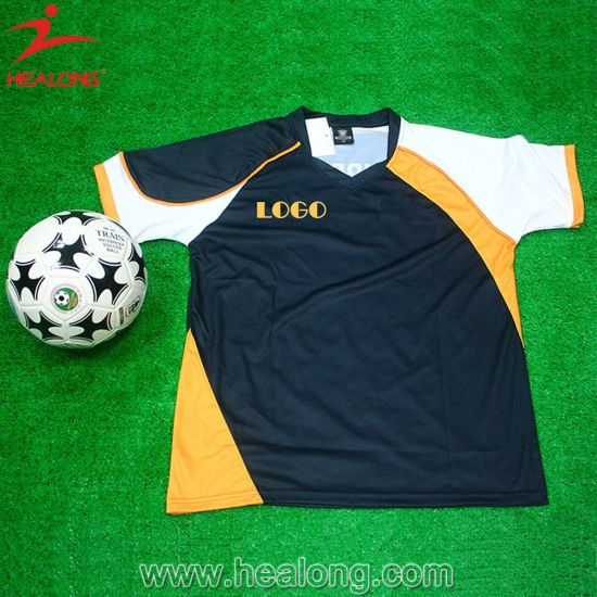 5437a8781 Healong Customized Sportswear Breathable Sublimation Printing Football  Jersey on Sale