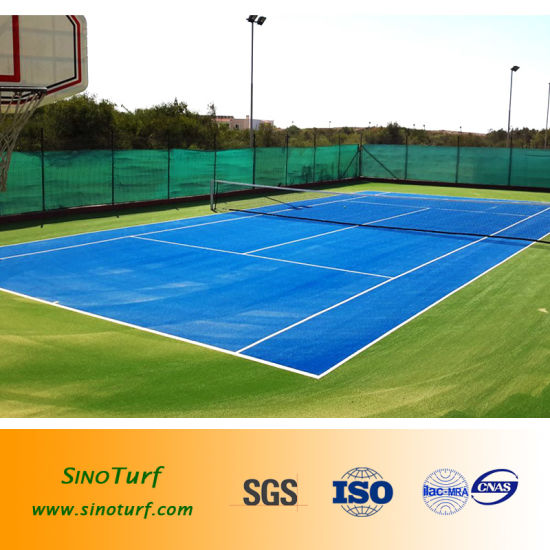 China Indoor Outdoor Tennis Court Cover Artificial Grass