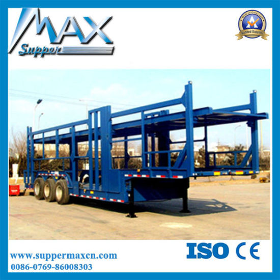 Best Quality Auto Transport Trailer, Car Transporter, Car Carrier for Sale pictures & photos