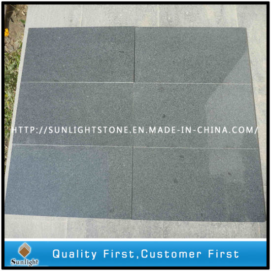 Honed G654 Padang Dark Grey Granite Floor for Kitchen, Room