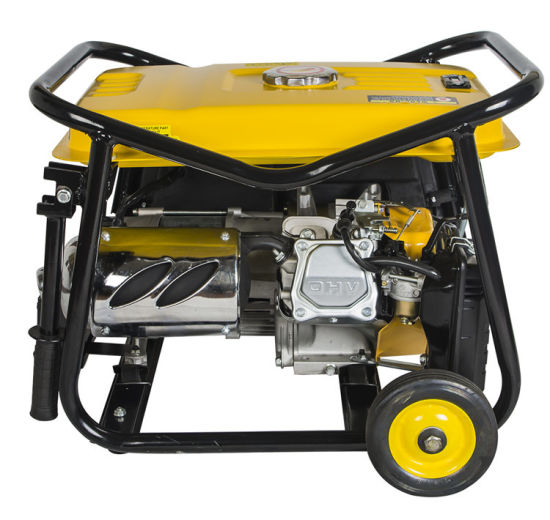 China Power 168f-1 Engine 2.5kw Gasoline Generator Plg Gas Electric Start with Battery Copper Wire pictures & photos