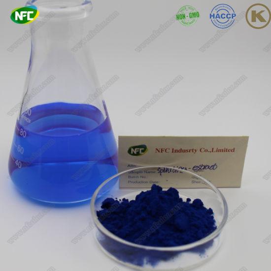 China Natural Herbal Extract Spirulina Blue Color in Bulk - China ...