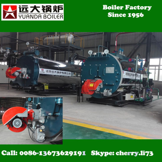 China 13bar Pressure 4t Natural Gas Steam Boiler Machine - China ...