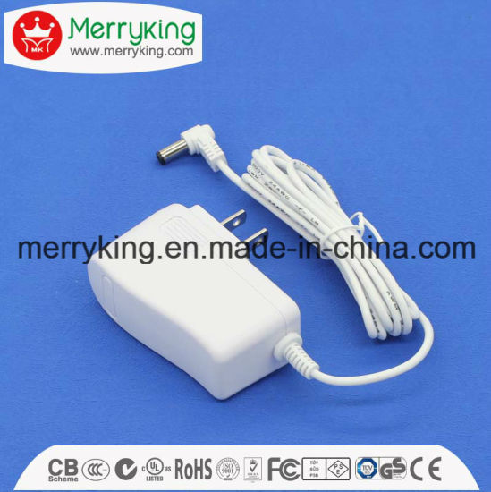 12V 1.2A USB Standard Plug Power Adapter/AC DC Adapter with UL FCC DOE VI Approved pictures & photos