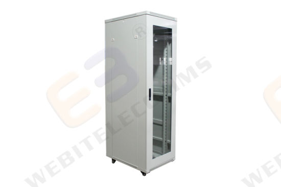 China 19 Inch Server Rack Cabinet with Windows Type Glass
