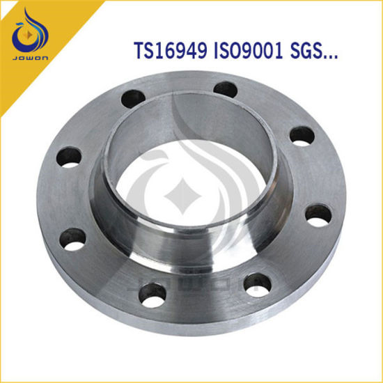 CNC Machining Spare Parts Steel Casting Flange with Ts16949