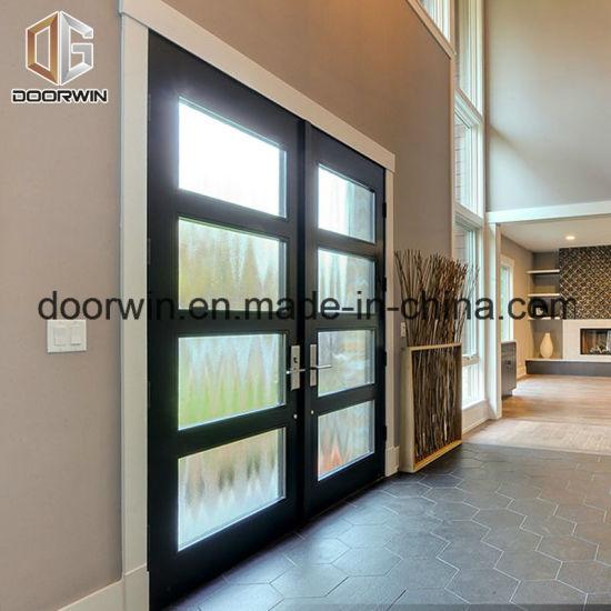 Solid Wood Aluminium French Door, Wood Aluminum Door From Chinese Professional Wood Aluminum French Door Designer