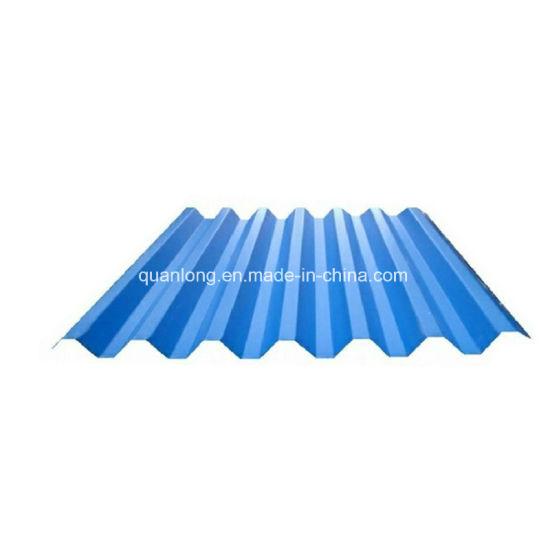Zinc Prepainted PPGI Corrugated Metal Roofing Sheet