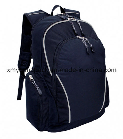 a41028e520ae Promotional Navy Blue 600d Polyester Sports Travel Backpack pictures    photos