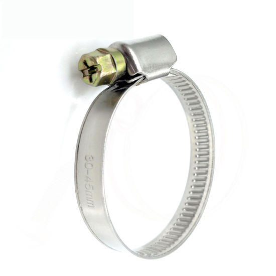 China Stainless Steel Car Automobile Automotive American Hose Clamp