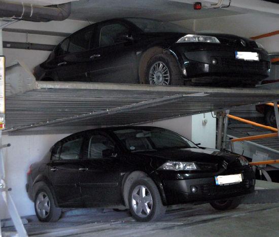 Pit Garage Underground Car Parking System