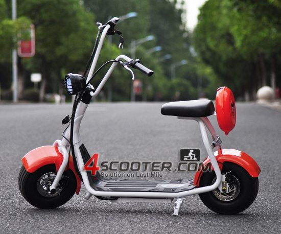 2016 Popular Harley Style Electric Scooter with Big Wheels Fashion City Scooter Citycoco pictures & photos