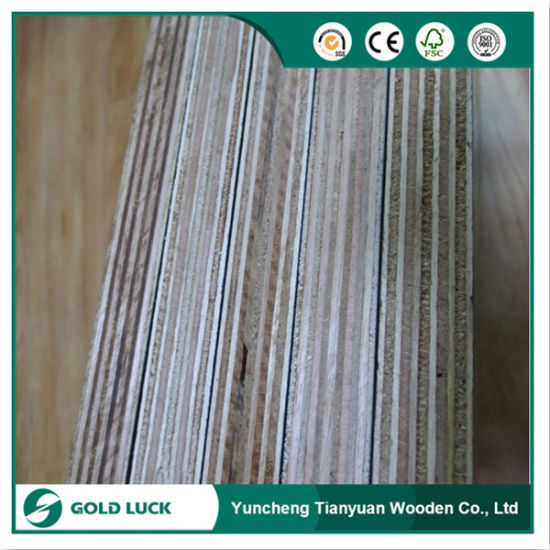 Building Materials 18mm Eucalyptus Core Hardwood Shuttering Plywood pictures & photos
