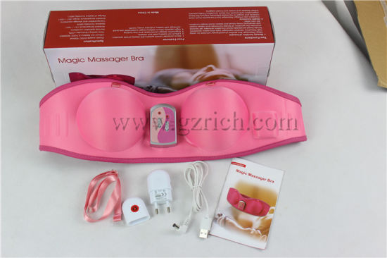 Breast Enlargement Massager/Magic Vibrating Massage Bra pictures & photos