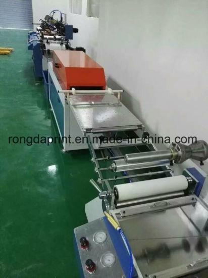 Roll to Roll Ribbon Label Screen Printing Machine