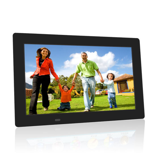 Hot Sell 10.1 Inch Digital Photo Frame with Battery