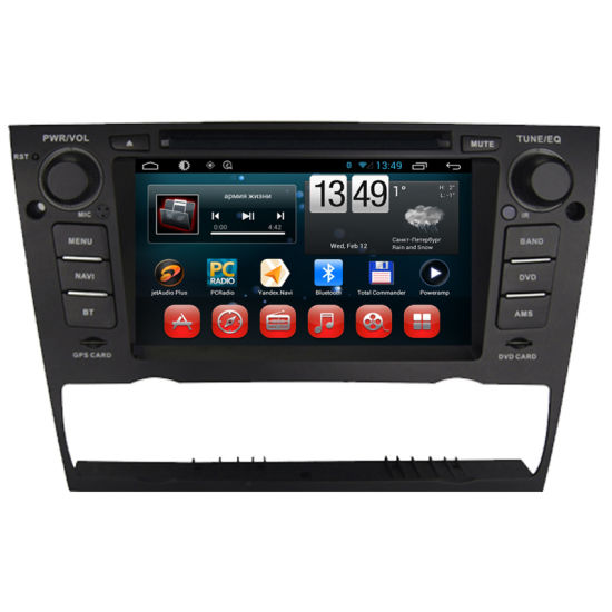 Car Multimedia Bluetooth GPS DVD Player for BMW 3 pictures & photos