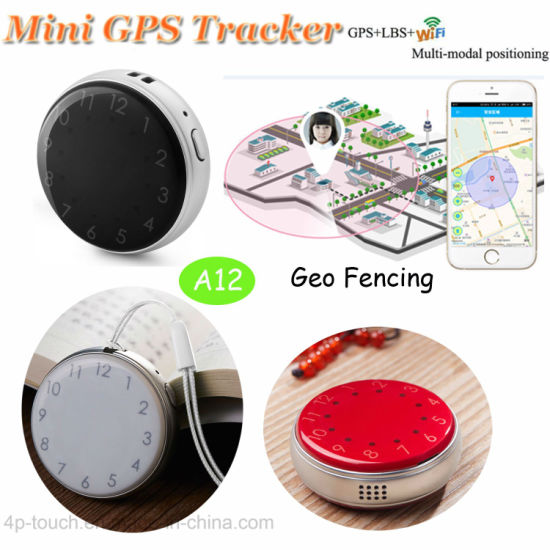 Sos Button Personal Mini GPS Tracker with Two-Way Communication A12 pictures & photos