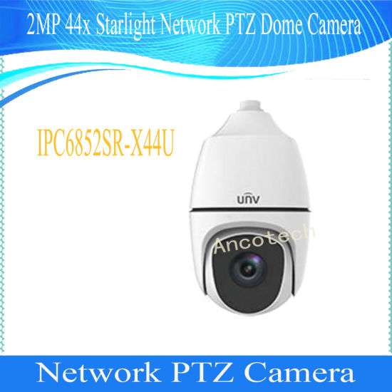 China Uniview 2MP 44X Starlight Network PTZ Dome Camera